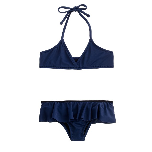 Girls' bikini set in ruffles