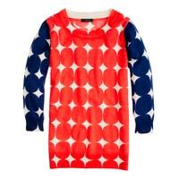 Merino Tippi sweater in pop art dot