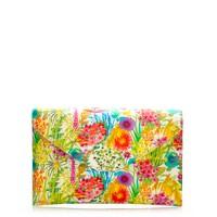 Liberty invitation clutch in Tresco floral