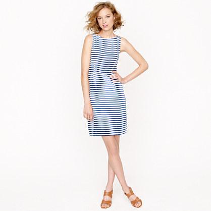 Dree dress in deck stripe