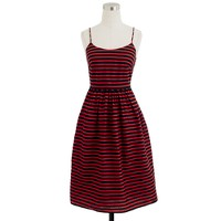Stripe derby dress