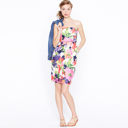Ella dress in garden floral
