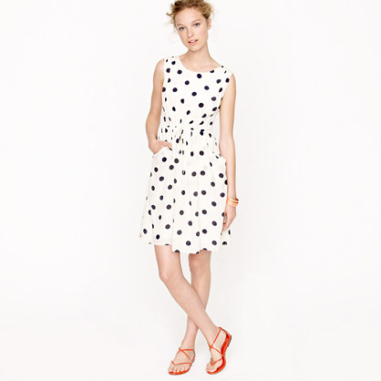 Scatter-dot dress