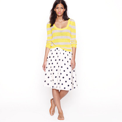 Scatter-dot skirt