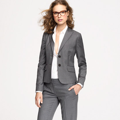 Tall two-button jacket in Super 120s