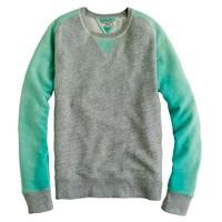 Wallace & Barnes colorblock raglan sweatshirt