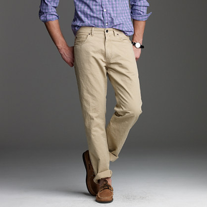 Tompkins pant in straight fit