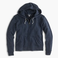 Tall brushed fleece zip hoodie