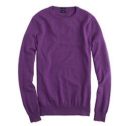 Slim cotton-cashmere crewneck sweater