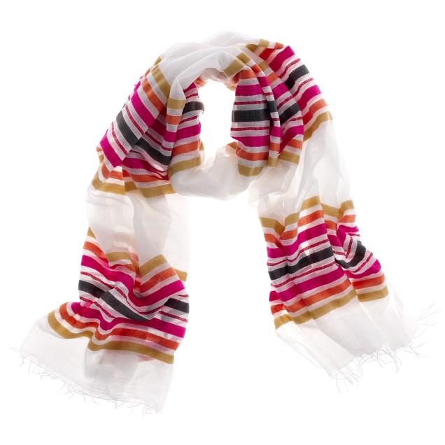 LemLem® Losha gauze scarf