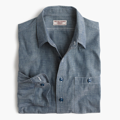 Wallace & Barnes chambray shirt
