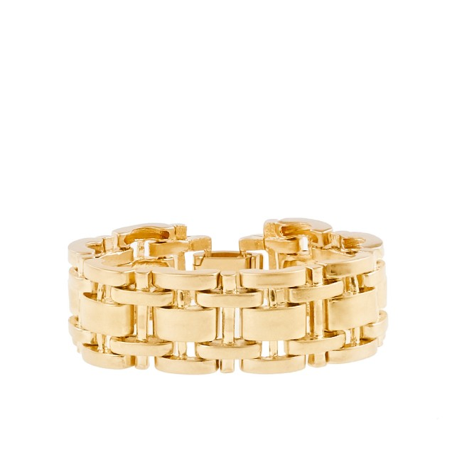 Track link bracelet