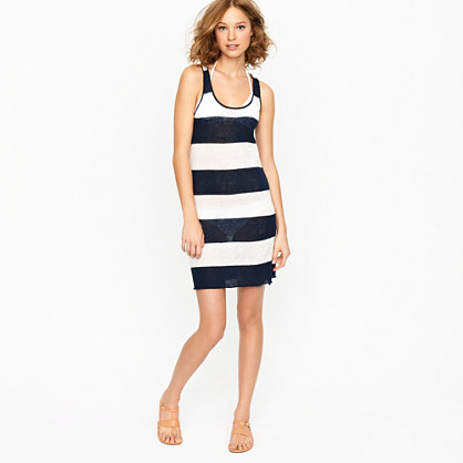 Nili Lotan® stripe sweater dress