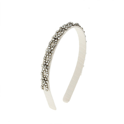 Girls' diamond twist headband