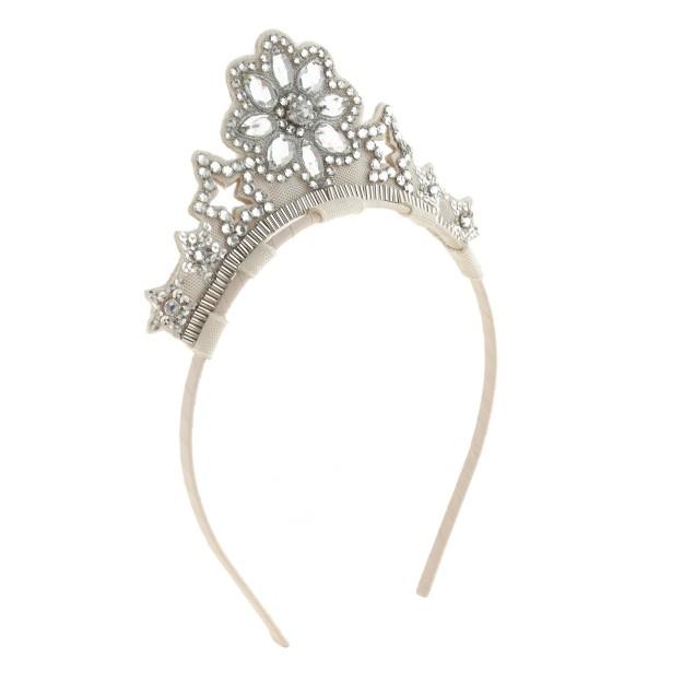 Girls' snowflake crown