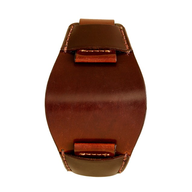 Bucktown shell cordovan 20mm bund pad watch strap