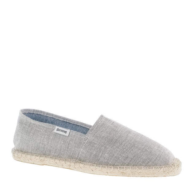 Soludos® for J.Crew pencil-stripe espadrilles
