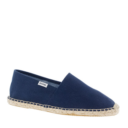 Soludos® for J.Crew espadrilles in navy