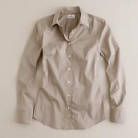 Petite slim stretch shirt