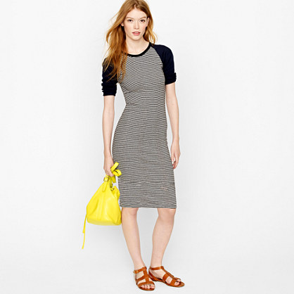 Edith A. Miller™ baseball mini-dress