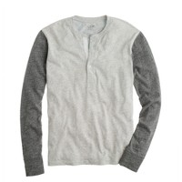Flagstone henley in colorblock