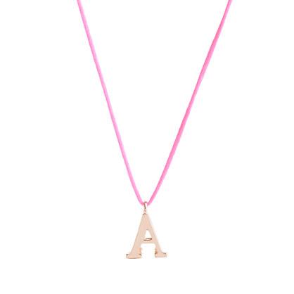 Girls' letter necklace