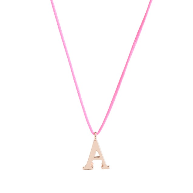 Girls' letter necklace