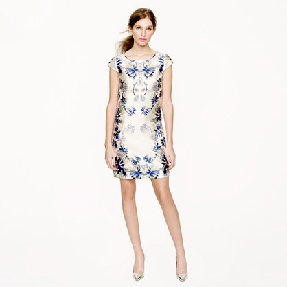 Collection shadow floral dress