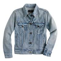 Vintage denim jacket in patina wash