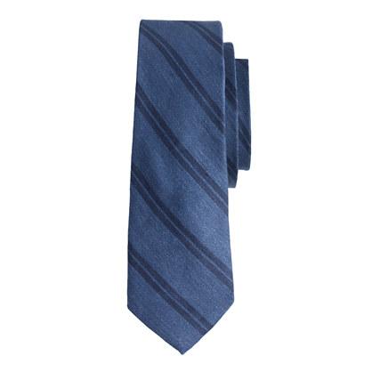 Double-stripe tie