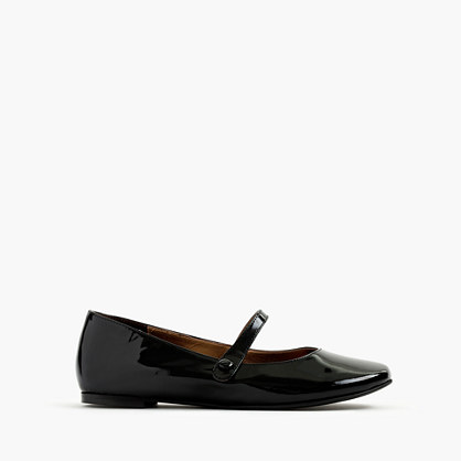 Girls' patent leather Mary Janes