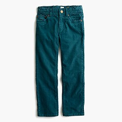 Boys' vintage cord in slim fit