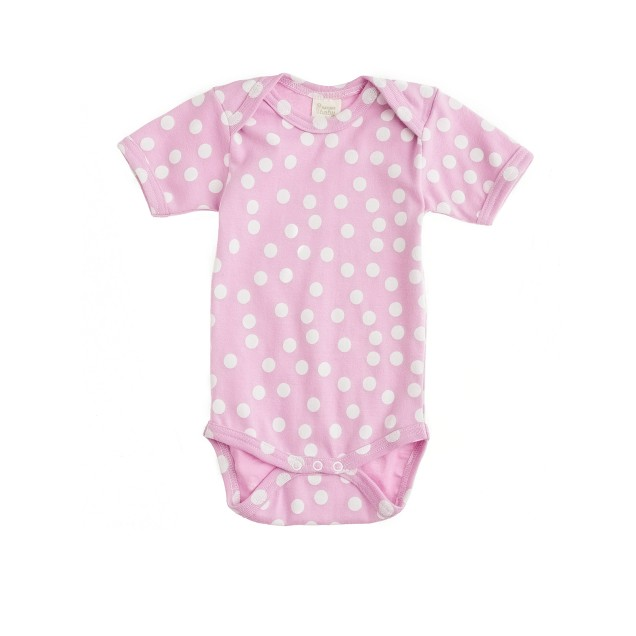 Nature Baby® for crewcuts short-sleeve one-piece in dot