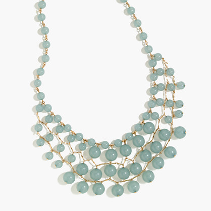 Bauble cascade necklace