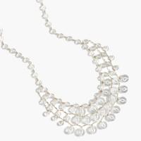 Bauble cascade necklace