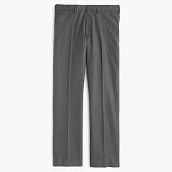 Bowery slim pant in heather cotton twill