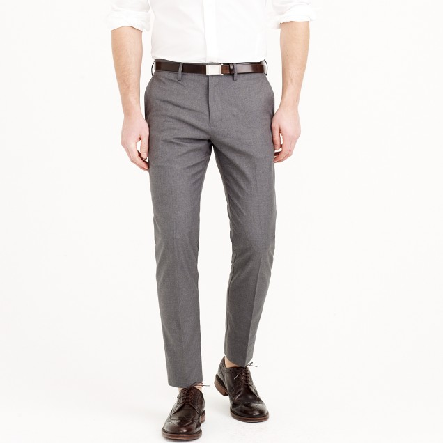 Bowery Slim Pant In Heather Cotton Twill : Men's Pants | J.Crew