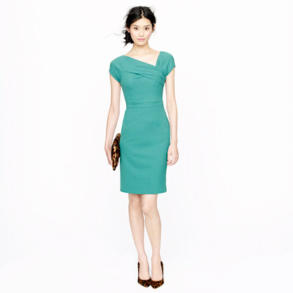 Tall origami sheath dress