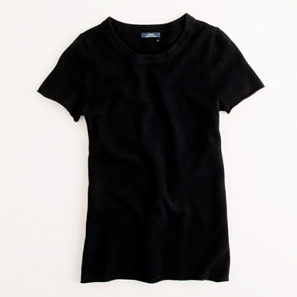 Cashmere short-sleeve tee