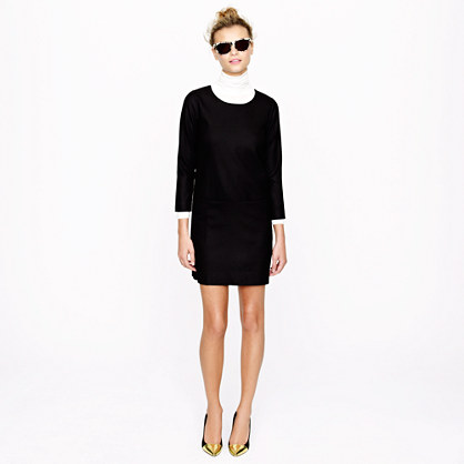 Petite Jules dress in wool