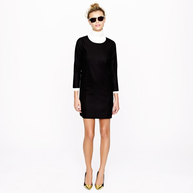 Jules dress in wool