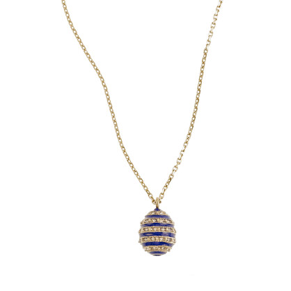 Beehive pendant necklace