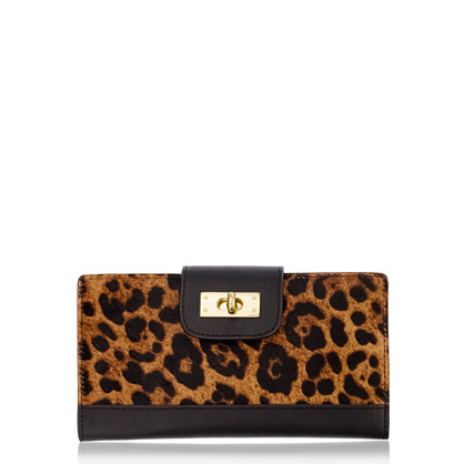 Edie calf hair wallet