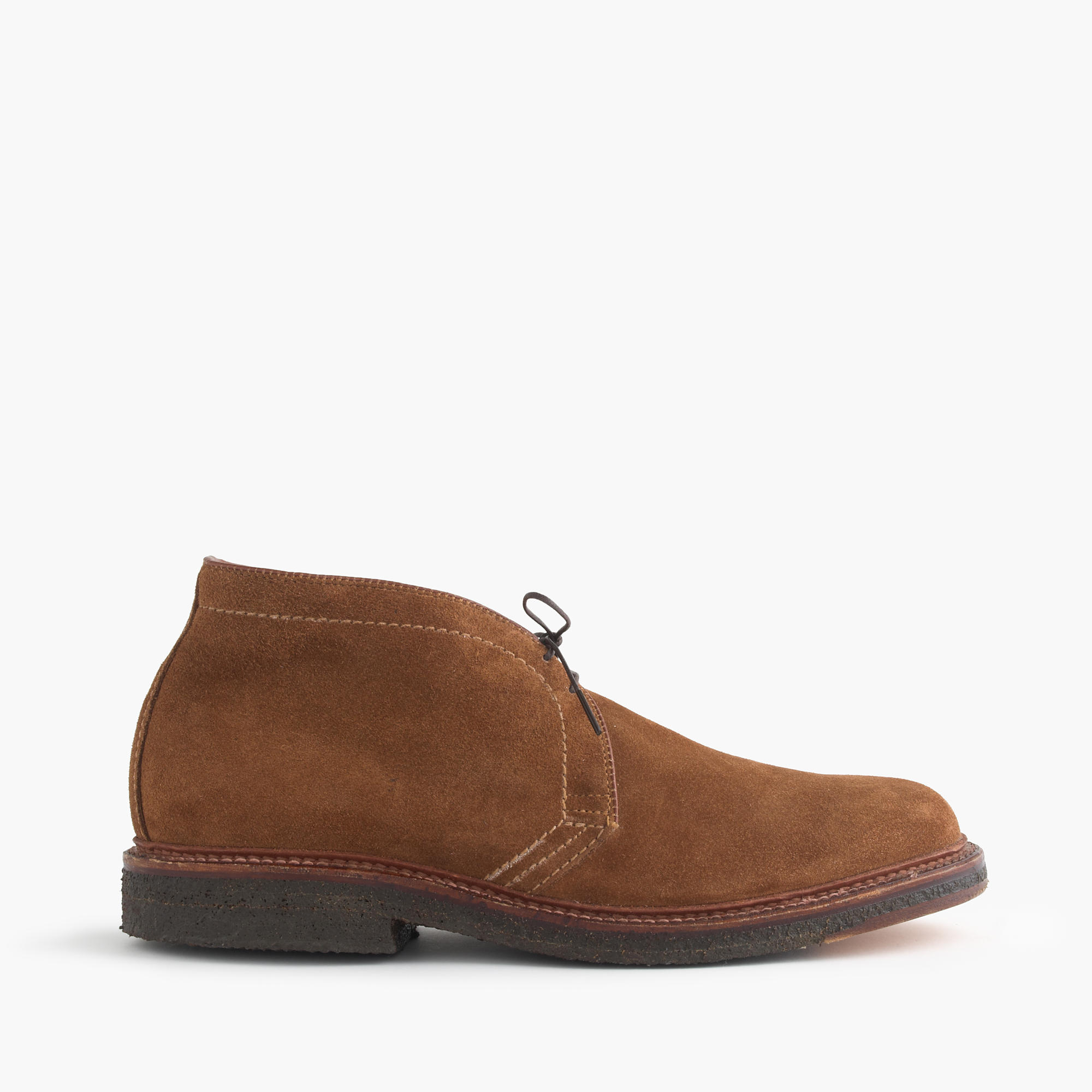 Alden for j crew flex toe chukkas in suede men 39 s boots for The alden