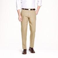 Ludlow classic suit pant in Irish linen