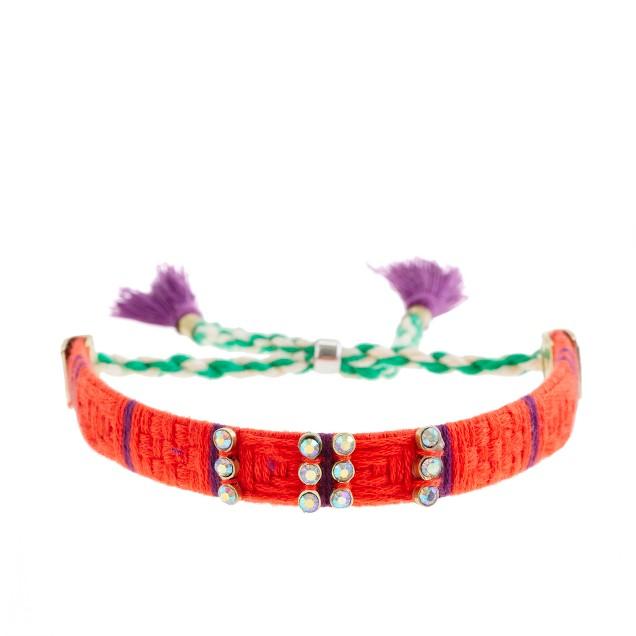 Girls' mini-stone pattern bracelet