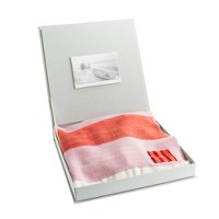 Swans Island® for crewcuts tricolor baby blanket