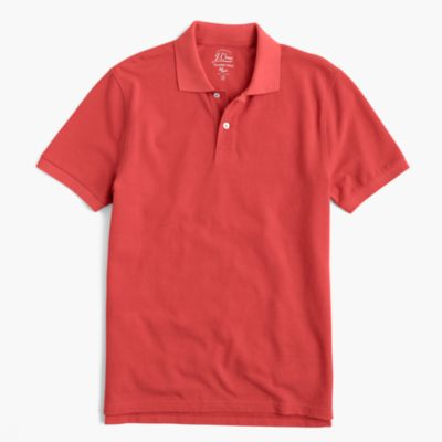 Tall classic piqué polo shirt