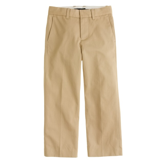 Boys' suit pant in Italian chino