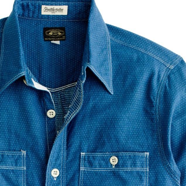 Shuttle Notes® shirt in dobby stripe